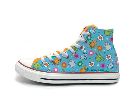 Uglydoll - Flower Pattern Chucks