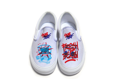 SUBSURF® Head Fuzz Slip On Vans