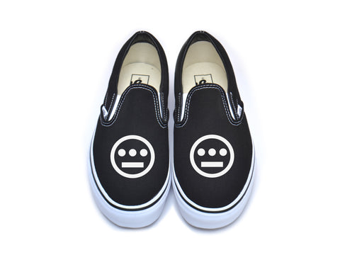 Hieroglyphics (Black) Vans