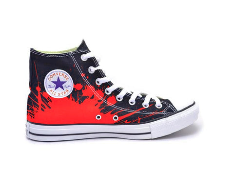 Rick Springfield - Red Logo Chucks
