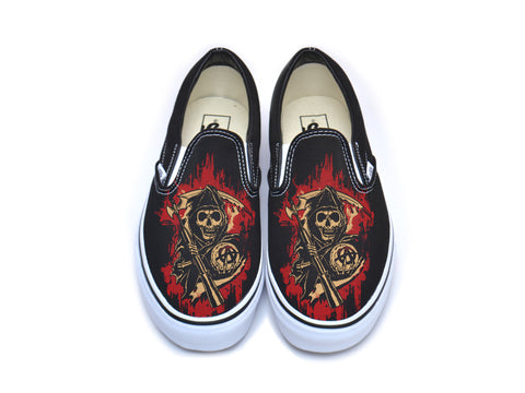Sons Of Anarchy Fiery Reaper Vans