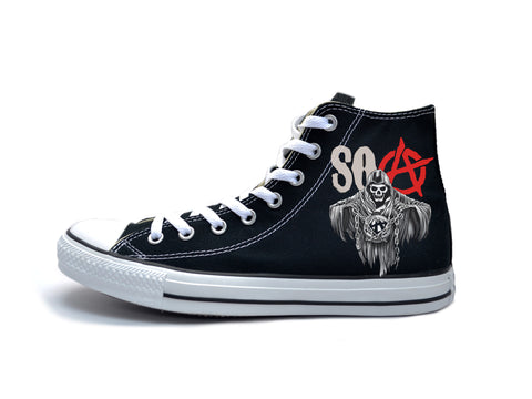 Sons Of Anarchy SOA Chucks