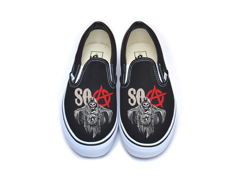 Sons Of Anarchy SOA Vans