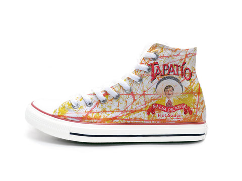 Tapatio Paint Splatters Chucks