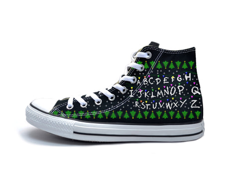 Stranger Things Alphabet Chucks