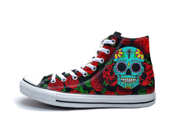 439d6611983f Sugar Skulls Chucks – The Ave Los Angeles