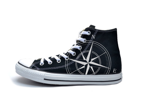 The Navigator (White) Chucks