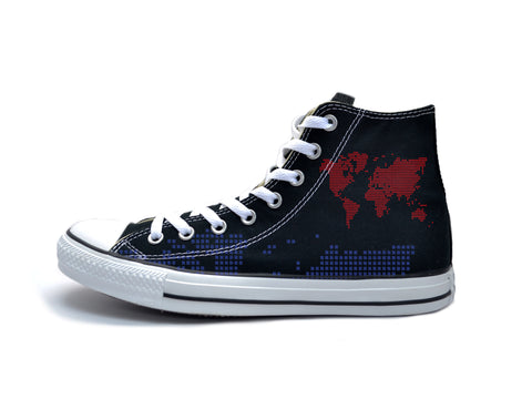 Digital Map (Red & Blue) Chucks