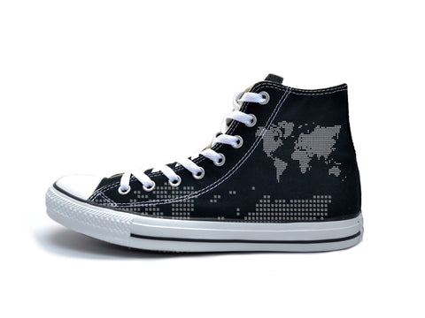 Digital Map (White) Chucks