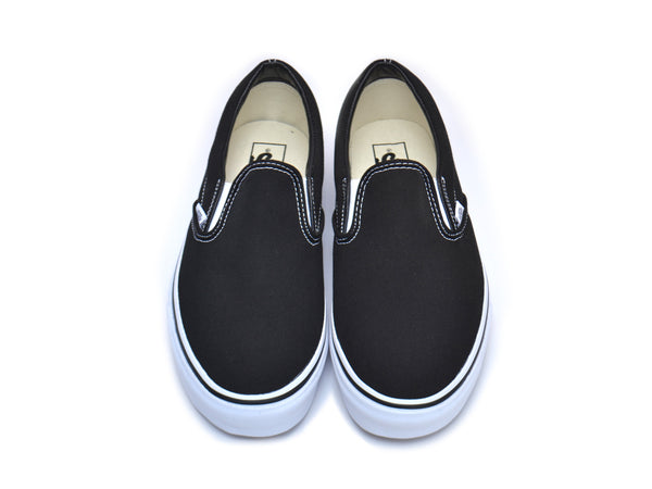 69a75d80c06e Custom Slip-On Vans - Black – The Ave Los Angeles