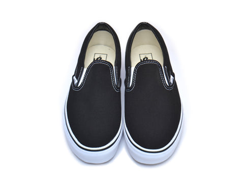 Custom Slip-On Vans - Black