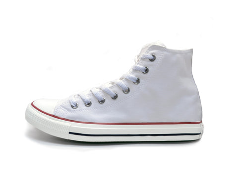 Custom Hightop Chucks - White