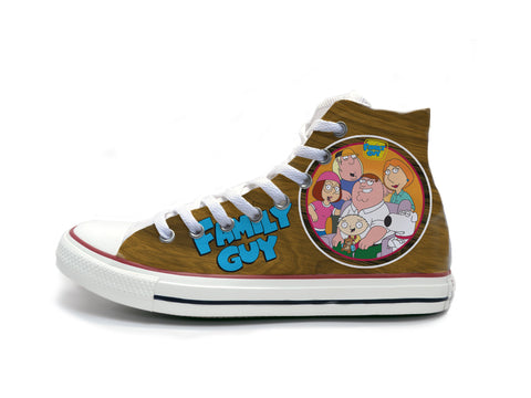 Family Guy Wood Paneling Chucks
