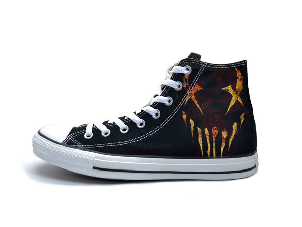 c1ef313041aed6 Mushroomhead - X-Face Fire Chucks – The Ave Los Angeles