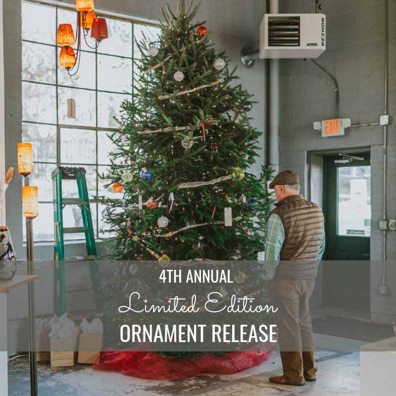 4th Annual Ornament Release Party | November 24th