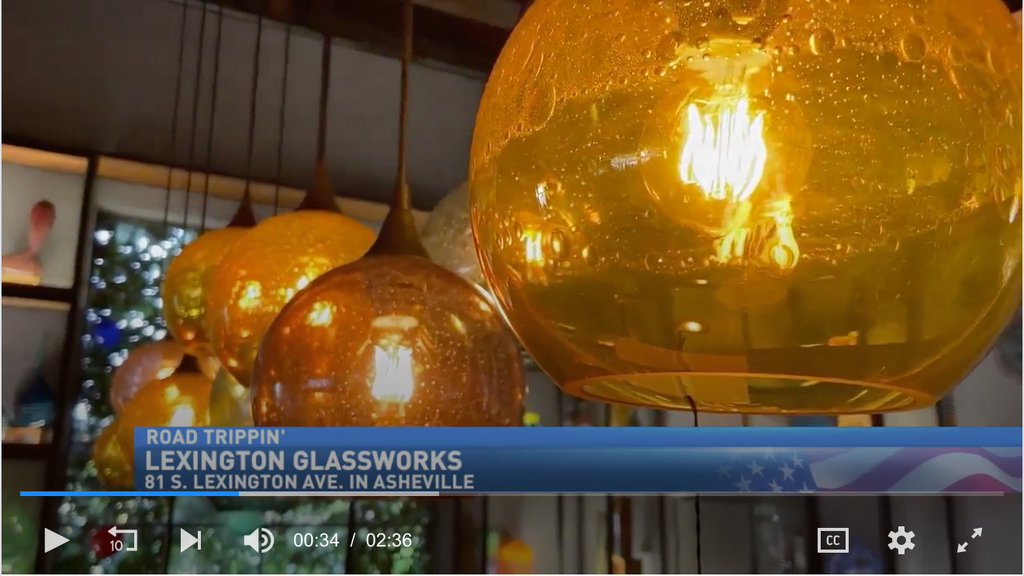 ABCNews Charleston | Asheville Glass Blowing Lets Customers Buy Art Blown Before Their Eyes
