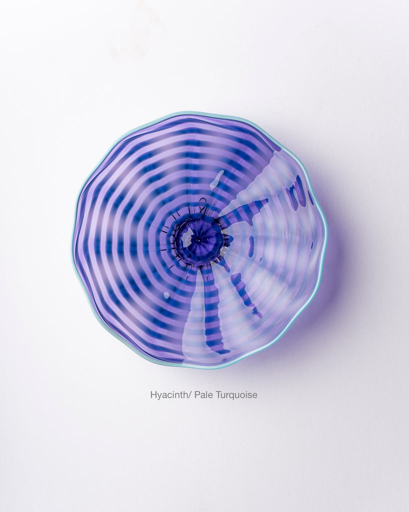 Hand Blown Glass, Wall Platter