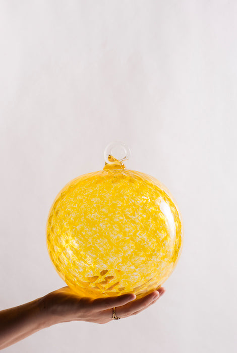 XL Ornament - Yellow