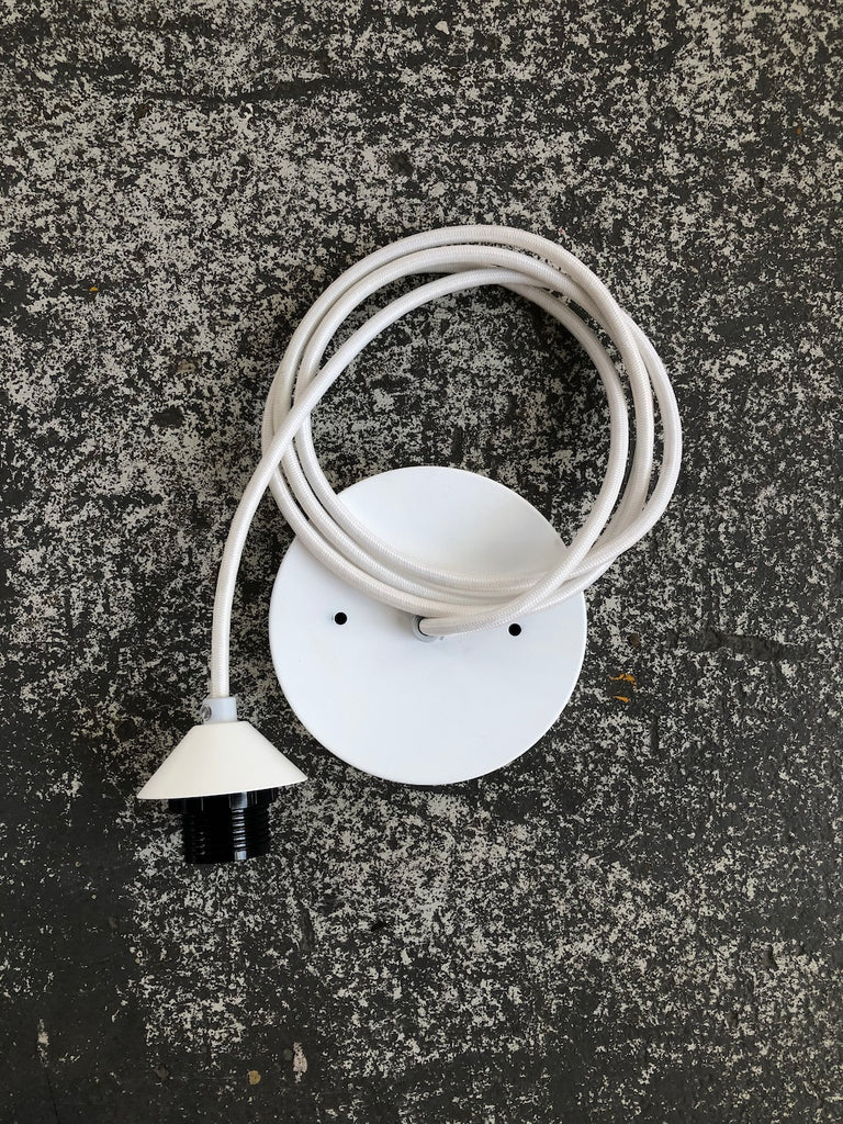 White Pendant Kit