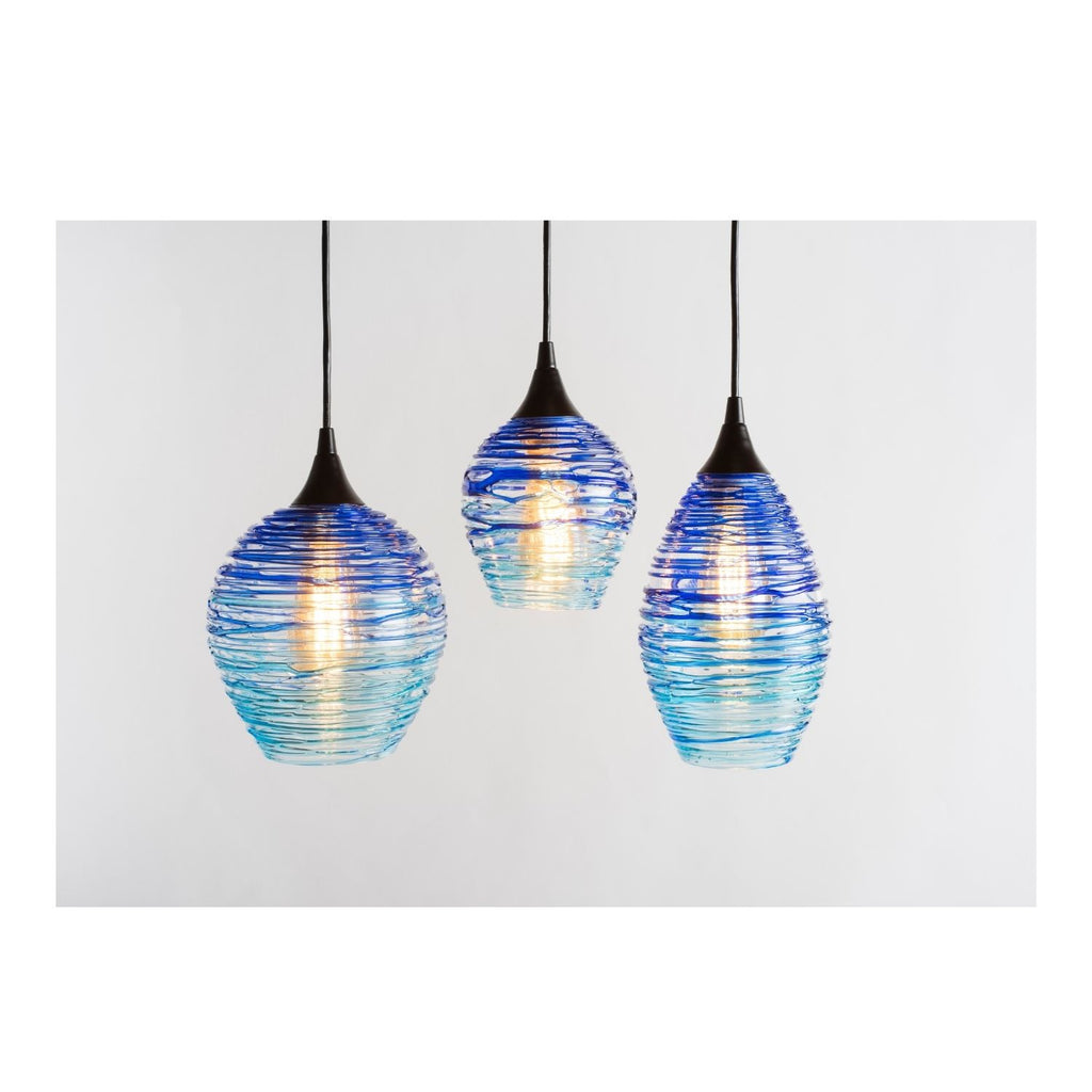 Nesting Lighting Collection | Dark Blue + Light Blue