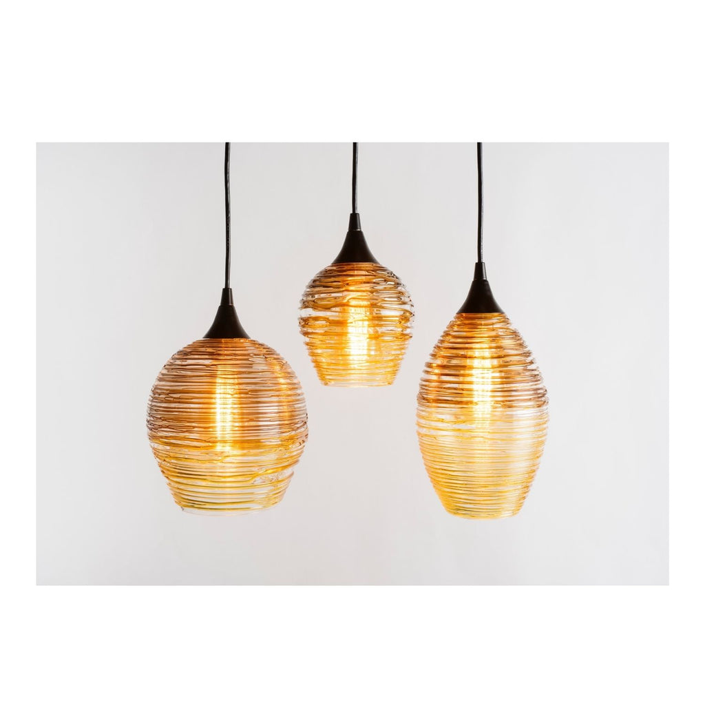 Nesting Lighting Collection | Brown + Gold