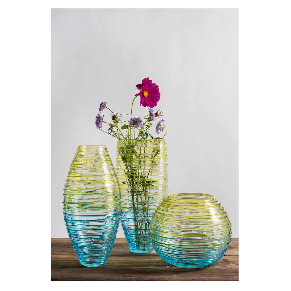 Blown Glass Vase Nesting Collection