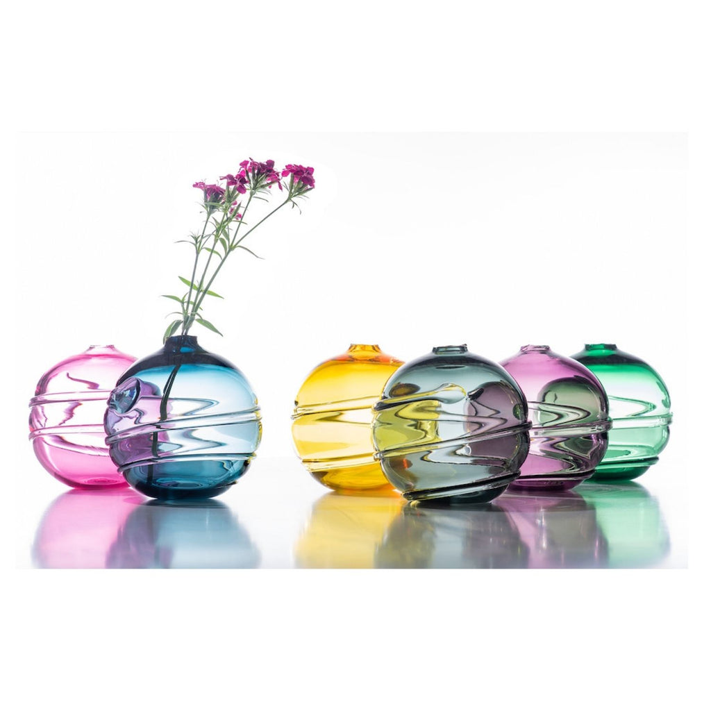 Hand Blown Glass, Water Orb Collection