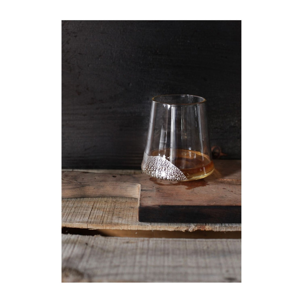 Hand Blown Glass, Whiskey Glass