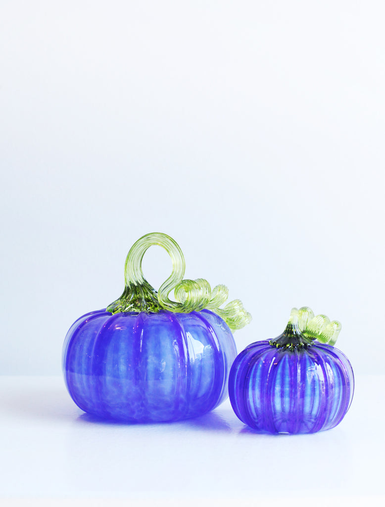 Hand blown glass, Pumpkin