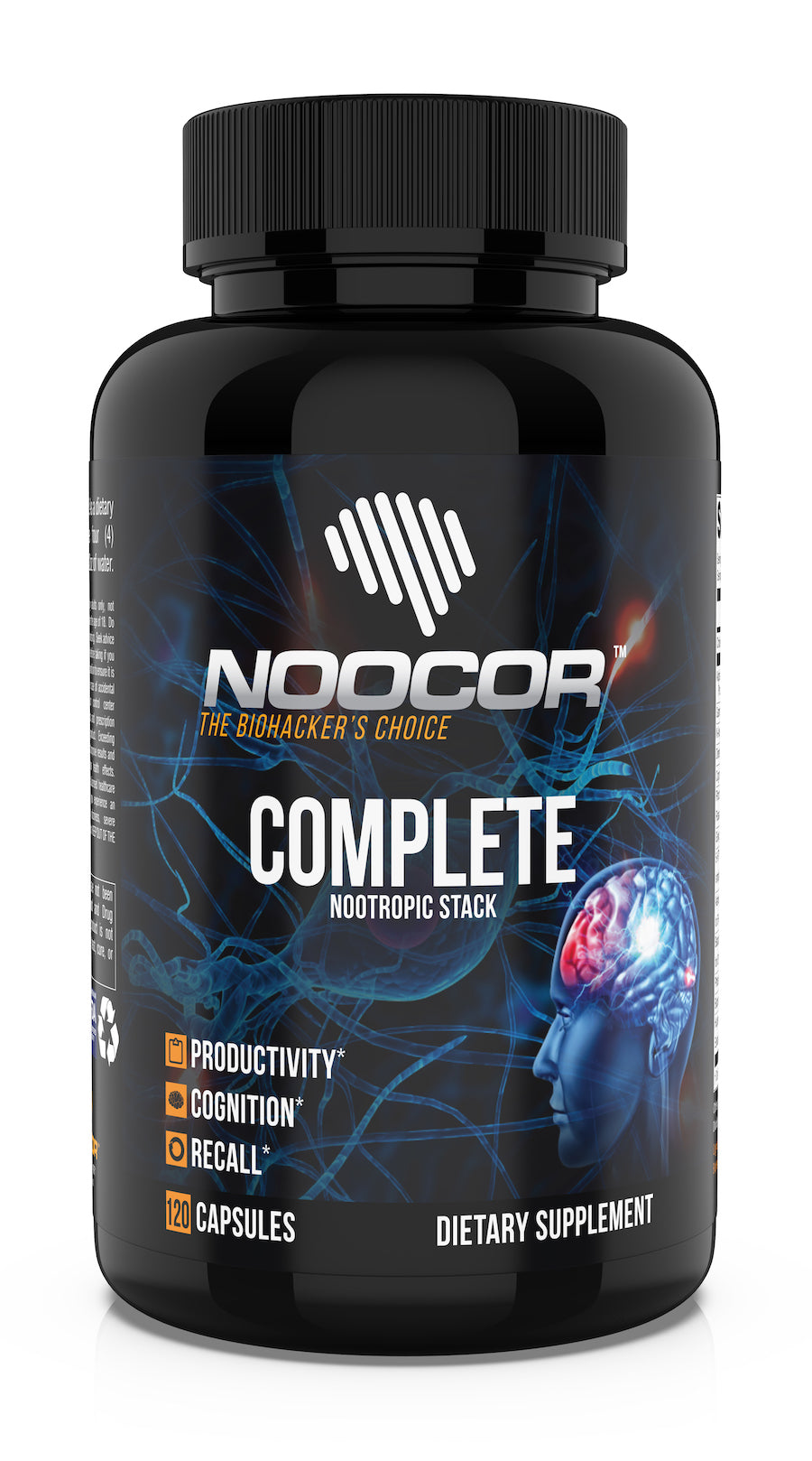 Noocor Complete Nootropic Stack - 120ct Bottle (NEW!)