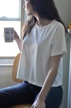 Load image into Gallery viewer, Le Bon Fille Tee - WHITE