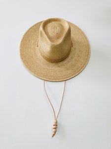 Desert Sun Hat -Golden Guatemalan Palm