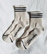 Le Bon Girlfriend  Socks - oatmeal