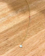 Load image into Gallery viewer, Tiny Opal Necklace