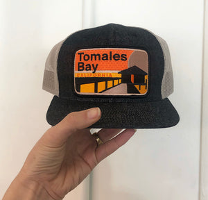 "Tomales Bay  ""Pocket"" Hat"