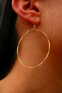 Simple Hoops - Large Round