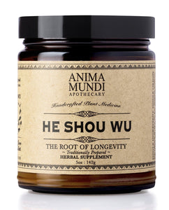 HE SHOU WU : ROOT OF LONGEVITY