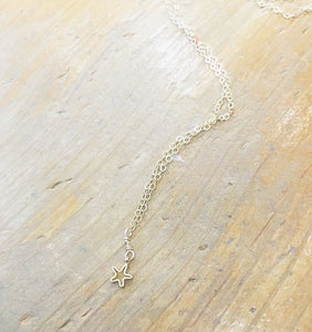 Tiny Star Charm Necklace