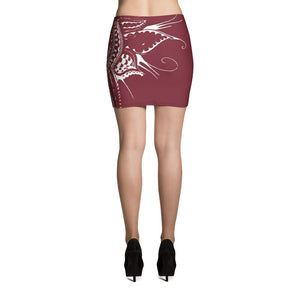 Benny Halldin x DK Mini Skirt on David Krug Online Store