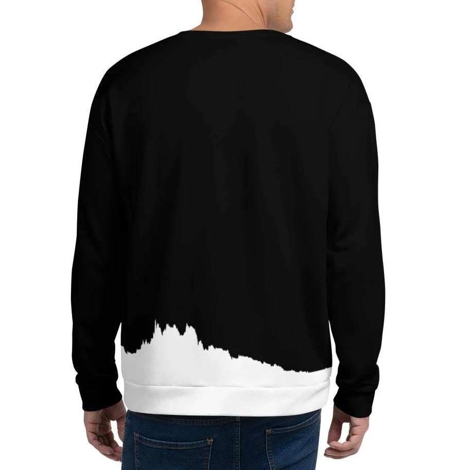 BTC in USD Graph Sweatshirt 25ITWC on David Krug Online Store