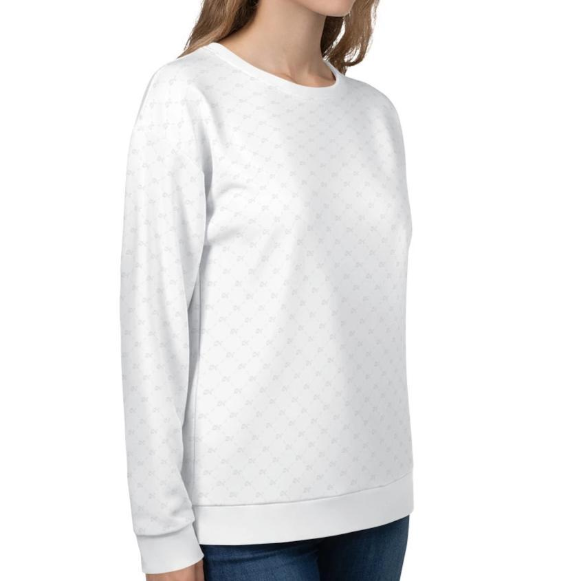 DK Monogram Pattern Sweatshirt on David Krug Online Store