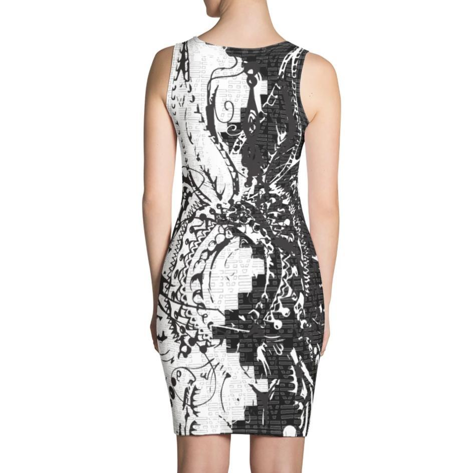 DK x Benny Halldin Love Pattern Dress on David Krug Online Store