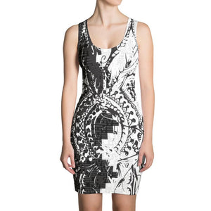 Krug x Benny Halldin Love Pattern Dress on David Krug Online Store