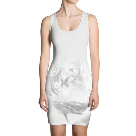 DK x Benny Halldin Whale & Butterflies Dress on David Krug Online Store