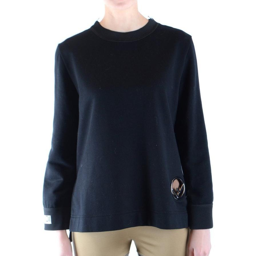 Fendi Sweatshirt-black Fashion on David Krug Online Store