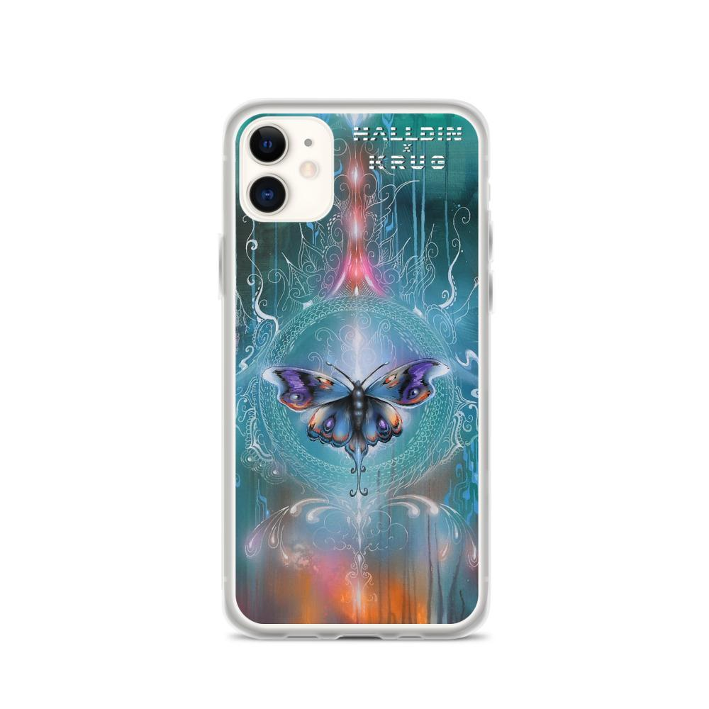 Halldin X Krug Butterfly iPhone Case on David Krug Online Store