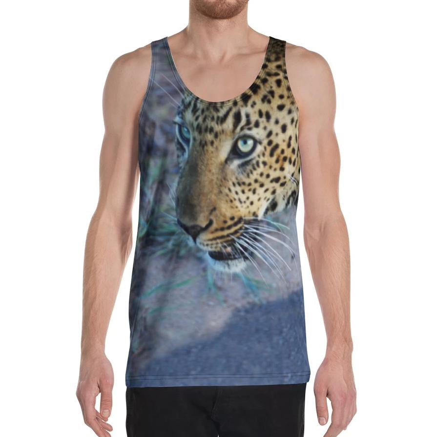 Hunting Leopard Tank Top on David Krug Online Store