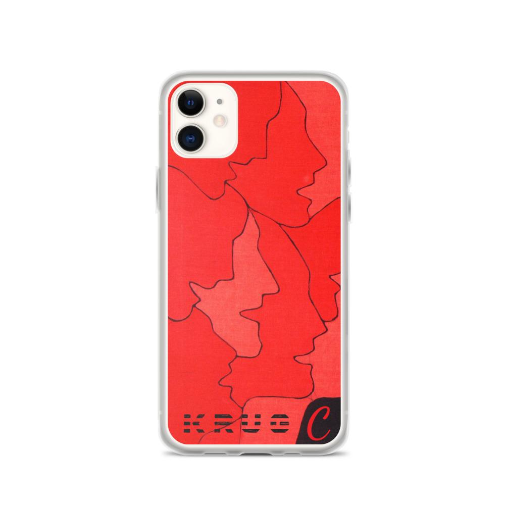 Krug C Red Side iPhone Case on David Krug Online Store