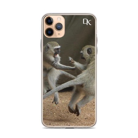 Krug Kung Fu Monkey iPhone Case 50ITWC on David Krug Online Store