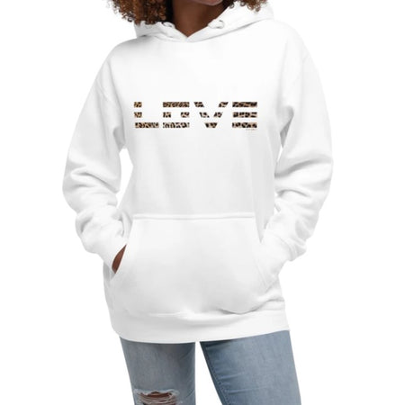 Krug Leopard Pattern Love Hoodie on David Krug Online Store